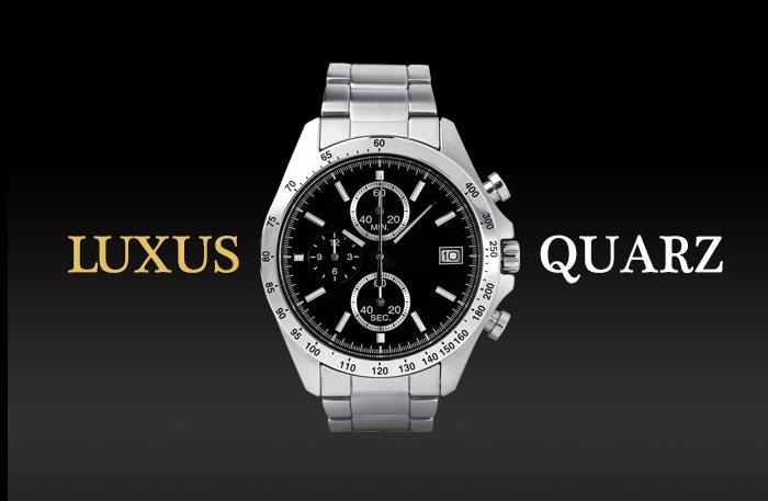 Hochwertige Quarzuhren - Luxus Quarzuhr