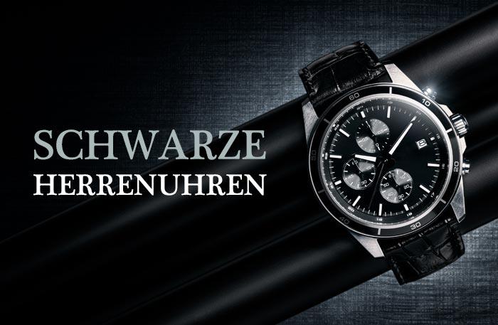 Schwarze Herrenuhren - Uhren Schwarz für Männer